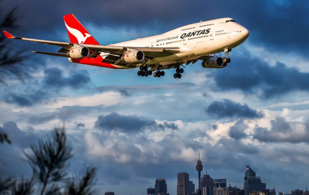 8° Qantas