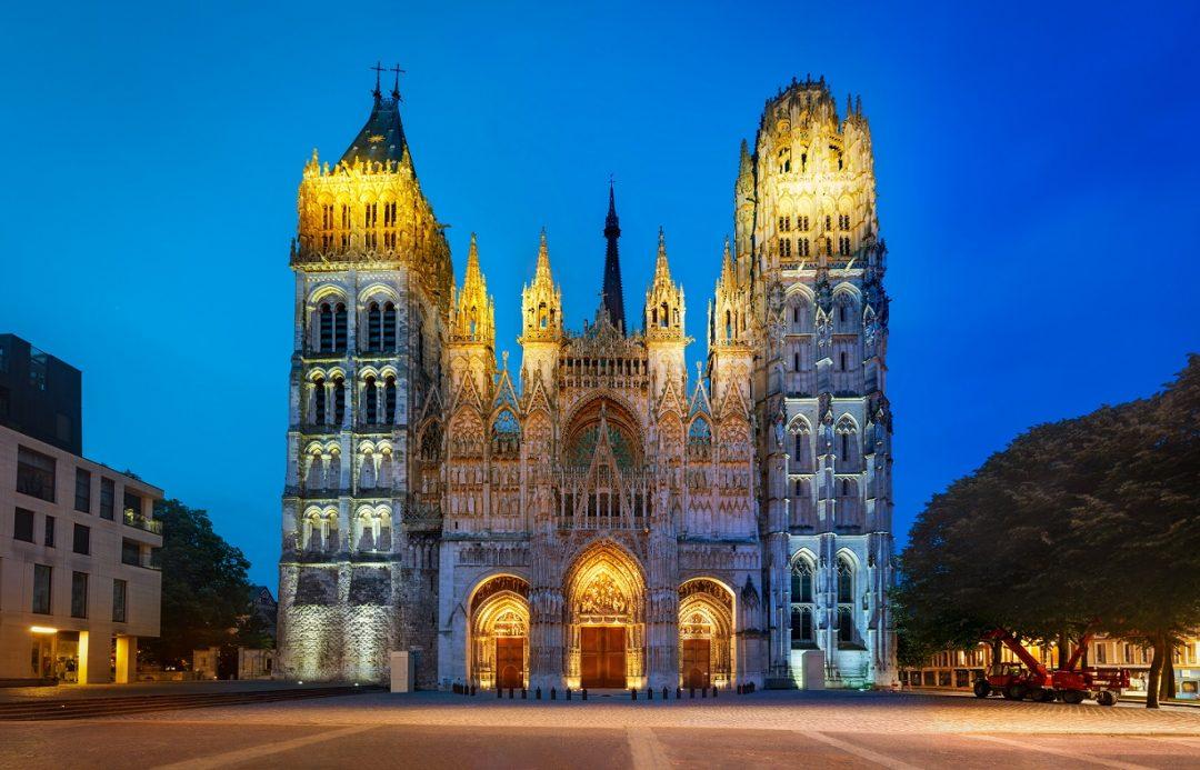 Cattedrale di Notre-Dame, Rouen (Francia)