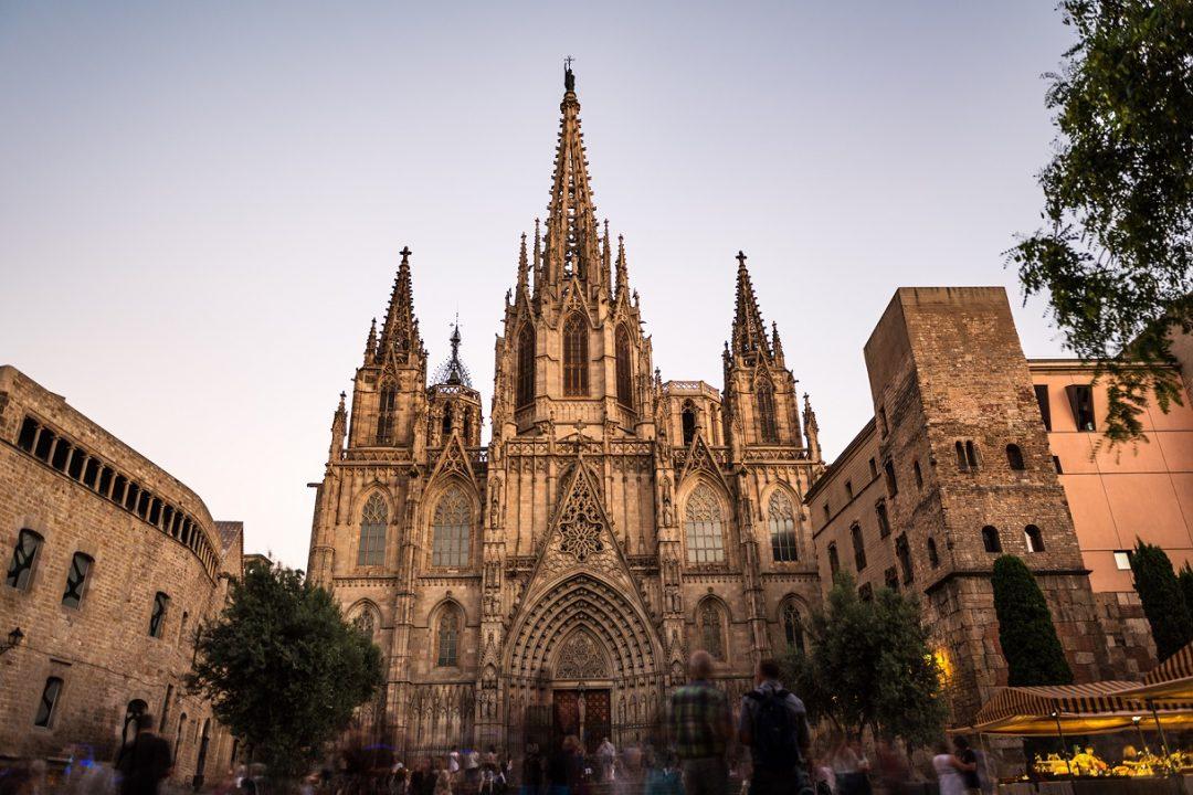 Cattedrale della santa Croce e Sant'Eulalia, Barcellona (Spagna)