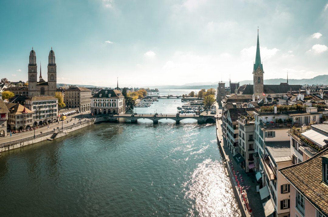 Zurigo, punto di partenza e di arrivo del (nostro) Grand Tour Deluxe della Svizzera
