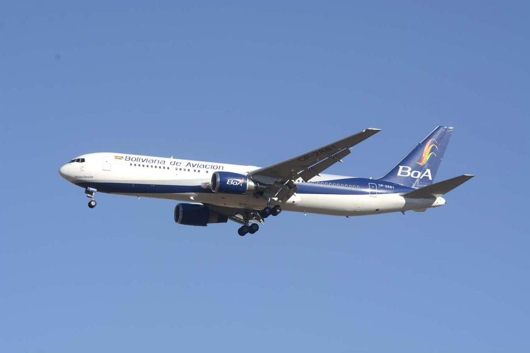 Boliviana de Aviación, Bolivia
