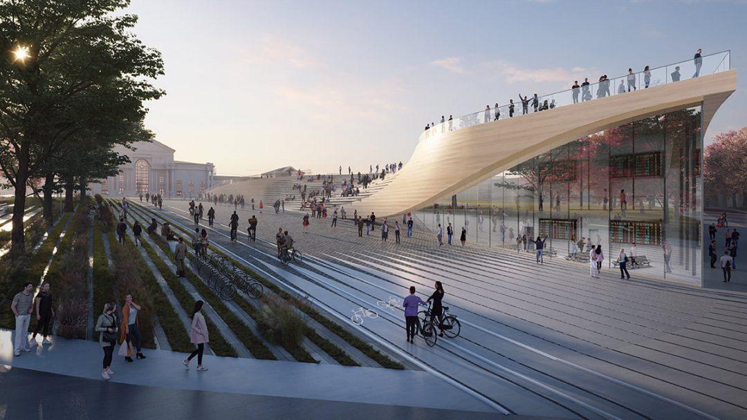 Green Connect Zaha Hadid Architects