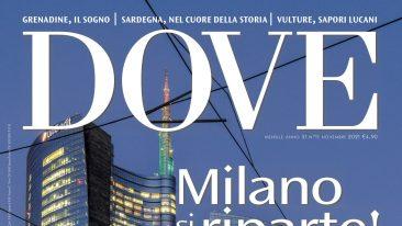 cover di dove di novembre 2021: Milano, il Centro direzionale (zona Garibaldi), e la Torre Unicredit. Foto di Giovanni Tagini/Dove