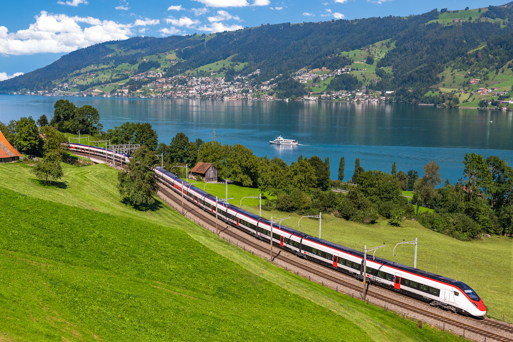 Grand Tour in treno con un unico pass