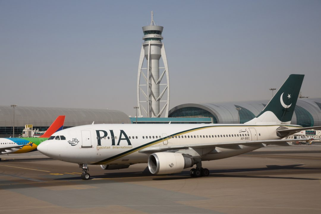 PIA Pakistan International Airlines, Pakistan