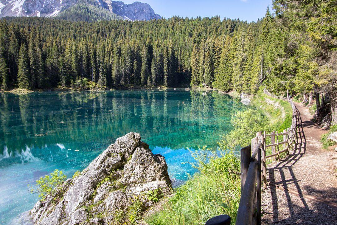 Lago di Carezza, dove si trova