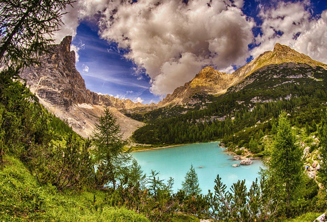 Lago di Sorapis: i percorsi e come arrivare