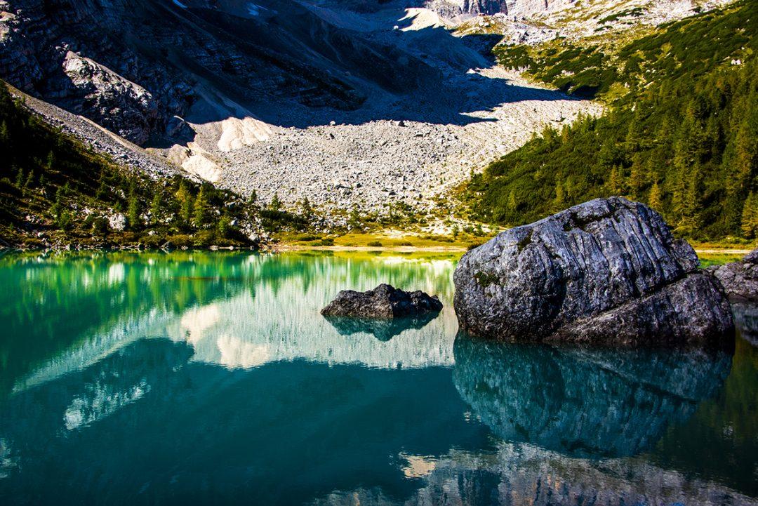 Lago di Sorapis, il percorso